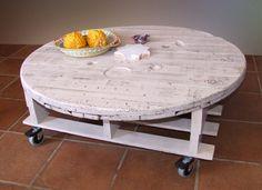 Las cosas de marita: mesa de palet reciclado