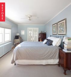 Before & After: A Shop Your Space Bedroom Makeover