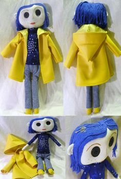"""Other Me"" Coraline Doll No.3 by mihijime.deviantart.com"
