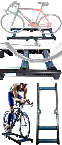 NEW Indoor Cycling Bicycle Bike Stationary Roller Rollers Trainer Exercise Win W