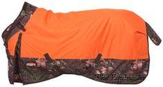 "1200D Tough 1 Winter Turnout Blanket Camo Timber Orange 69""Up to 84"" | eBay"