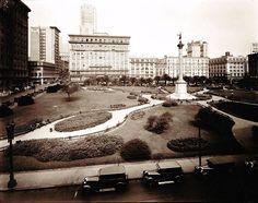 Union Square in the 1920's