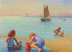 #Provincetown Harbor Morning, via #FineArtAmerica