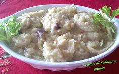 Crema di sedano e patate