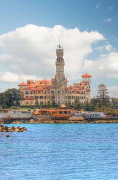 Montazah Palace Alexandria egypt