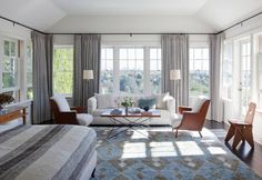 The San Remo Residence Creating a legacy home in the Pacific Palisades. Interior Styling, Interior Decorating, Interior Design, Decorating Ideas, Decor Ideas, Master Bedroom, Bedroom Decor, Bedroom Ideas, Furniture Placement