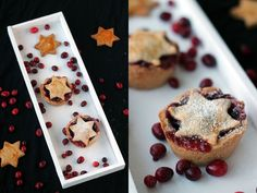 Weihnachts-Tartelettes mit Preiselbeeren im schönen Mond und Sterne Look haben wir heute für euch! Das Rezept ist schnell gemacht und einfach lecker!