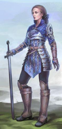 ArtStation - Warrior, Relinmai ☽