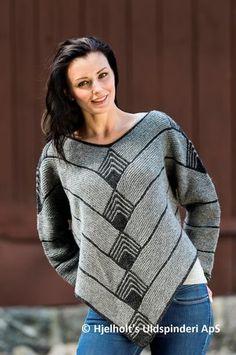 Billedresultat for poncho sweater strikkeopskrift
