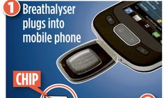 Mobile phone breath test that could check for signs of cancer http://dailym.ai/1mK28GL