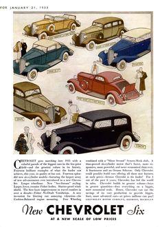 Chevrolet's of 1933