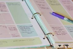Other pinner says:Full size binder Planner Pages, free printable. Intended to be used for keeping multiple lists together in one binder, instead of in a mess of 5 notebooks, like my own To Do Planner, Blog Planner, Planner Pages, Life Planner, Printable Planner, Free Printables, Binder Planner, Ring Binder, 2015 Planner