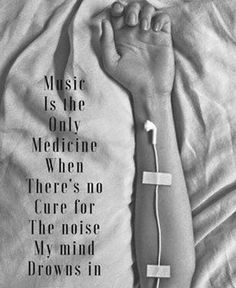 Music ease the mind