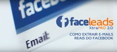 Extrator Facebook Leads Emails
