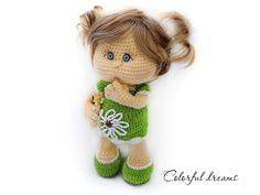 Häkle Dir jetzt eine niedliche Puppe // Baby-Puppe als Deko oder zum Spielen und Liebhaben. Auch Anfänger mit Grundkenntnissen packen…