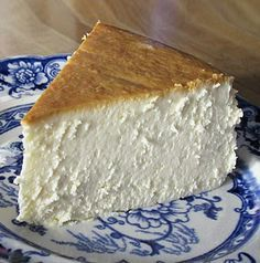 """Pinner said: """"Probably the best cheesecake ever. I used 2 cups of Nancy's nonfat yogurt in place of the sour cream. Delicious!!"""""""