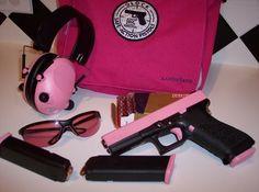 I really want a pink gun!