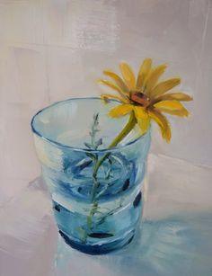 Una pintura al día: Margarita