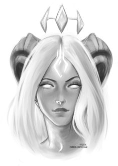 Sketch Face Aidara OC Sketch Portrait [Ko-Fi Commission] by sylessae - Fantasy Character Design, Character Design Inspiration, Character Art, Portrait Sketches, Art Sketches, Art Drawings, Sketchbook Drawings, Dark Fantasy Art, Fantasy Girl
