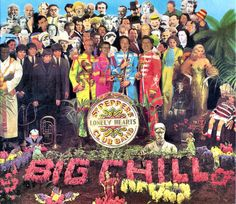 Pepper - the beatles - john lennon - paul mccartney - ringo starr- george harrison - album -cover The Beatles, Beatles Album Covers, Iconic Album Covers, Greatest Album Covers, Classic Album Covers, Cool Album Covers, Beatles Songs, Original Beatles, Psychedelic Rock