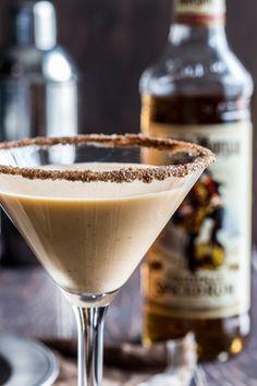 "Pumpkin Eggnog Martini #martini www.LiquorList.com ""The Marketplace for Adults with Taste!"" @LiquorListcom #LiquorList"