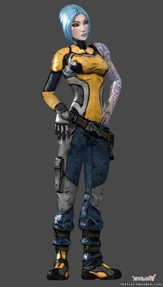 The Borderlands franchise is notorious for creating token characters, and Maya from Borderlands 2 is no exception. Description from pinterest.com. I searched for this on bing.com/images