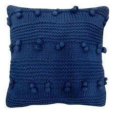 Threshold™ Decorative Pillow Square INDBLU