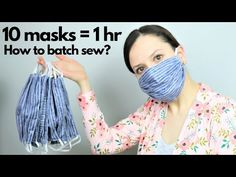 Tutorial on How to BATCH sew masks for hospitals! - Informations About Tutorial on How to BATCH sew masks for hospitals! Pin You can easily use my prof - Sewing Patterns Free, Free Sewing, Free Pattern, Sewing Hacks, Sewing Tutorials, Sewing Crafts, Sewing Tips, Small Sewing Projects, Easy Face Masks