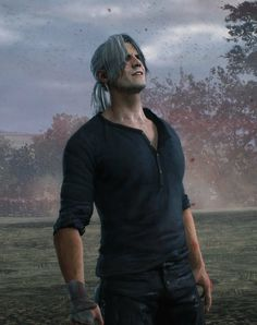 Dante Devil May Cry, Dmc 5, Video Game Characters, Cursed Images, Anime Comics, Resident Evil, Character Concept, Final Fantasy, Videogames