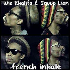 Wiz Khalifa & Snoop Lion  French inHale