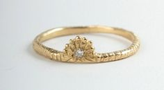Unique engagement and wedding rings by Catbird | Bridal Musings