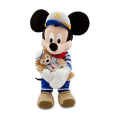 Mickey Mouse with Duffy Plush - 17 | Plush | Disney Store