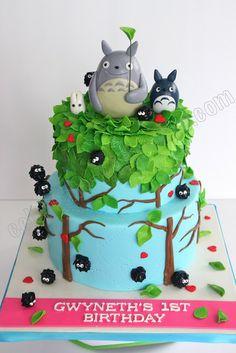 Празднуйте с тортом: Тоторо торт