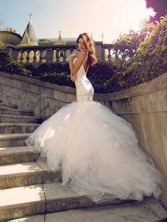LAUREN ELAINE BRIDAL:  Wisteria Gown