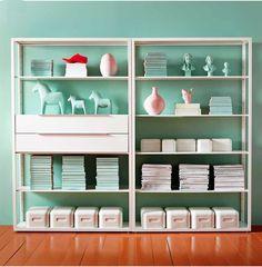 New at IKEA | Fall 2013  $189 Fjalkinge shelving unit!