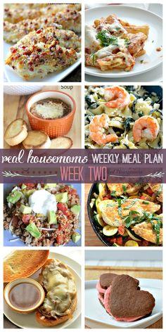 Weekly Meal Plan {Week 2} - Real Housemoms
