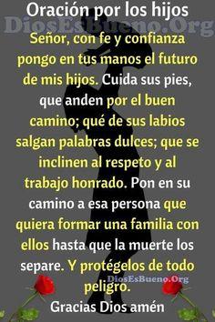 Holy Spirit Prayer, God Prayer, Daily Prayer, Prayer Quotes, Catholic Prayer For Healing, Catholic Prayers In Spanish, Prayers For Healing, Prayer For My Son, Prayer For Family