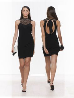 #black #minidress #stretch #weekend #sexy #cocktaildress #party #partydress #fashion #fashionista #glamour #night #spring #springsummer 2015