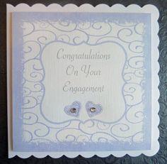 Engagement Handmade Celebration Card - SC22 £2.75