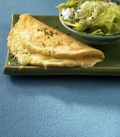 Käse-Omelett - [ESSEN UND TRINKEN]
