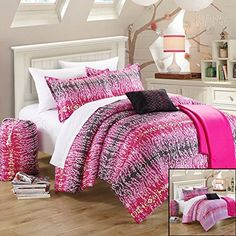 Chic Home 8Piece Techno Comforter Set with Shams Decorative Pillows and Sheet Set Twin >>> Continue to the product at the image link.