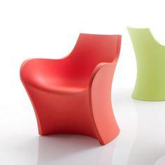 Woopy chair designed by Karim Rashid for B-LINE.- http://www.destinationluxury.com
