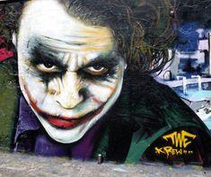 STREET ART UTOPIA » We declare the world as our canvasstreet_art_november_17 heath ledger joker » STREET ART UTOPIA