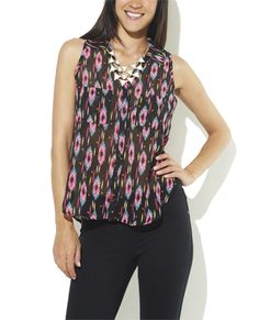 Multicolor Shirting Top from Wet Seal