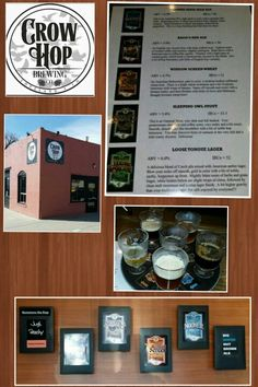 CROW HOP BREWING (Loveland, CO) (71) ☆☆☆☆☆.....really good beers from a newer brewery (Oct 2013).....very good Nut Brown Ale and Peach Sour....Rado's Red is terrific!