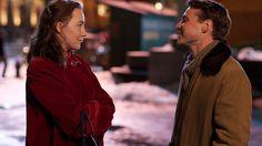 Eilis and Tony walk together in Brooklyn