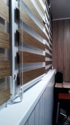 20160908204200-roletta-vishhorod New Homes, Deco, Decor, House Interior, Shades Blinds, House, Curtains, Curtains With Blinds, Home Decor