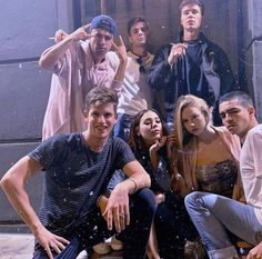 """32 Times The """"Elite"""" Cast Were Completely Adorable In Real Life Movies And Series, Best Series, Netflix Series, Tv Series, Elite Squad, Squad Goals, Friend Photos, Gossip Girl, Live Action"""