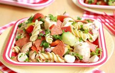Antipasto pasta salad - Take It to Go! (Packable Lunch Recipes)