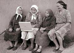 """io e le mie amiche quando saremo vecchie (""""Me & my friends when we are old."""")"""